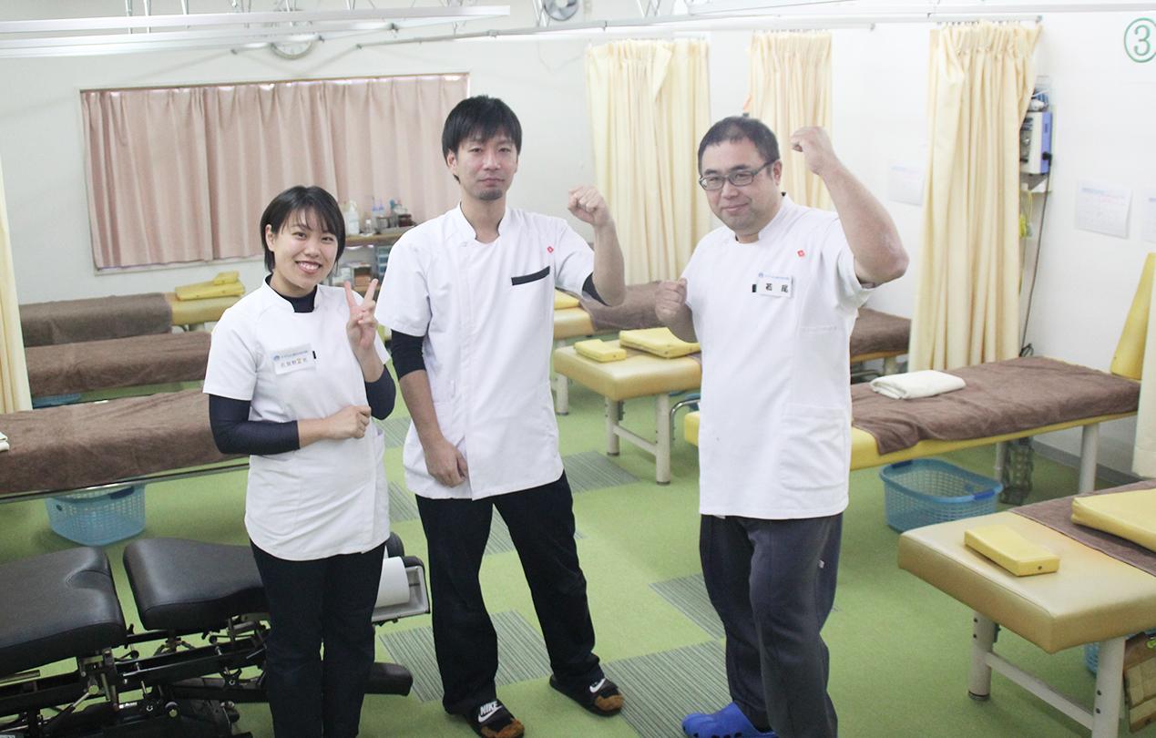 名古屋市北区すずらん鍼灸整骨院上飯田院の患者様様